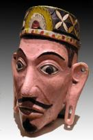 CARVED HEAD - KENYAH DAYAK