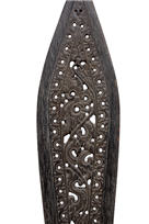 CARVED DAYAK PADDLE