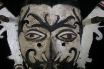 BAHAU MASK OF HUMAN FORM