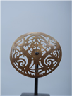 BRASS HAT ORNAMENT
